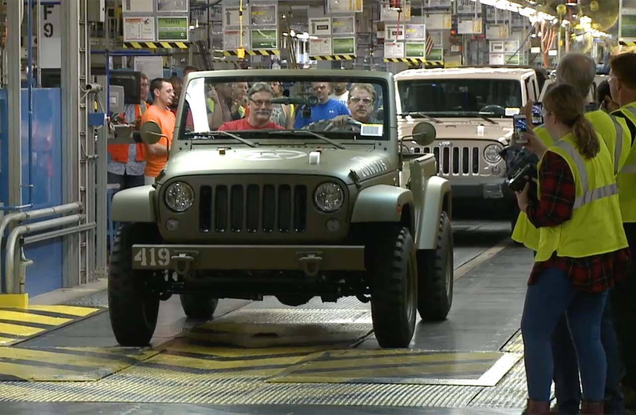 Jeep Wrangler 75º Salute Toledo