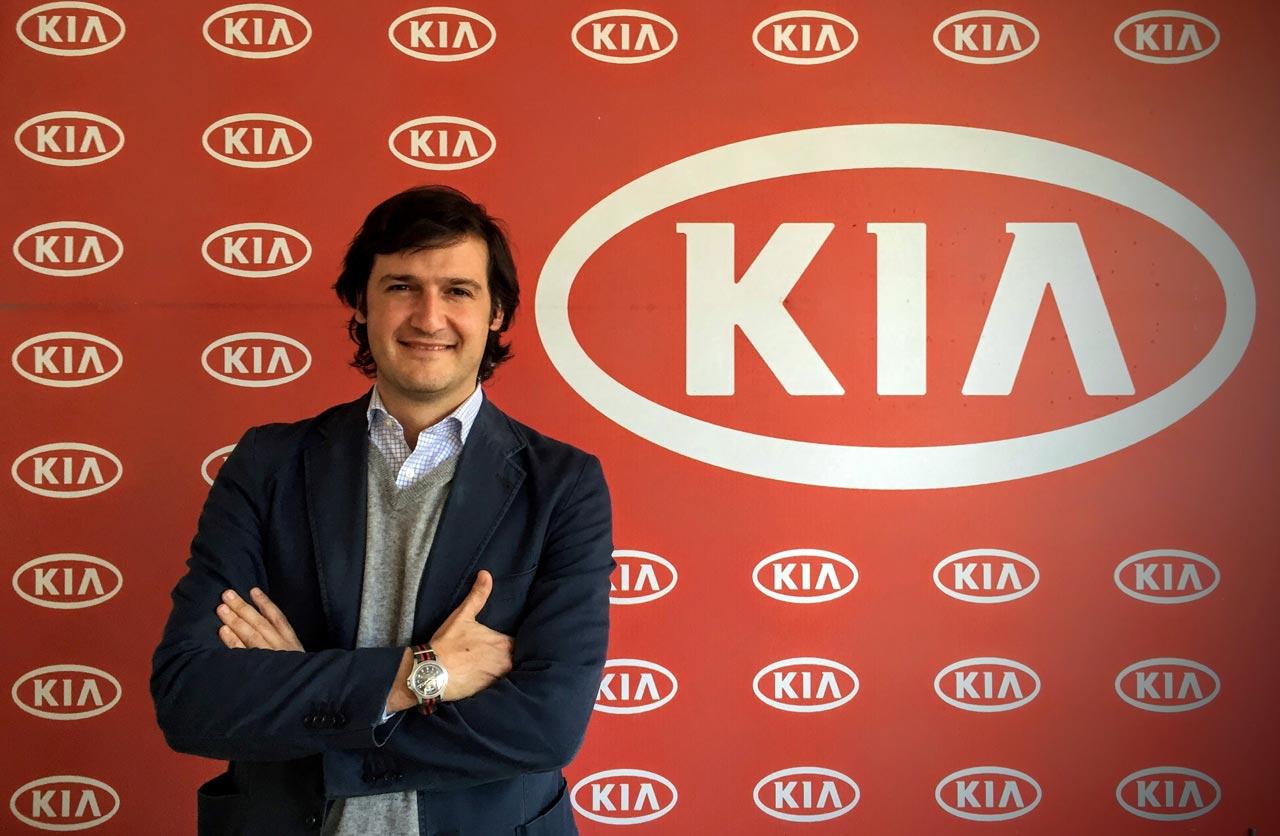 Ignacio Echevarría, Gerente Comercial de Kia Argentina