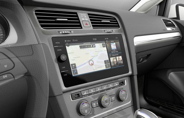 Interior Volkswagen Golf 7 Facelift
