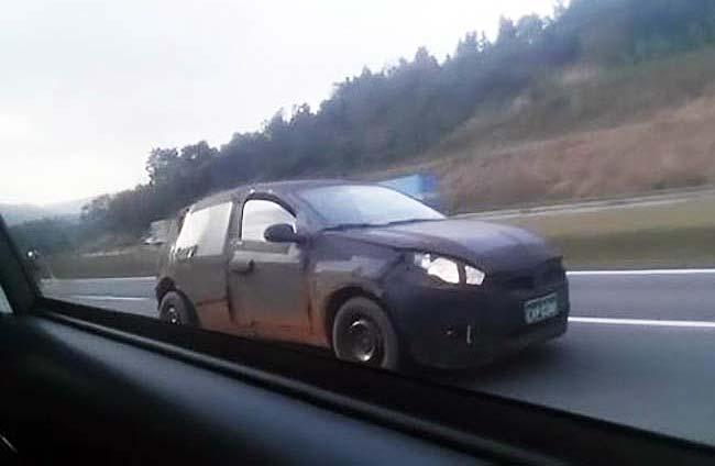 El reemplazante del Fiat Punto rueda en Brasil
