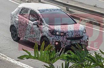 El Honda WR-V pasea en Brasil antes de su presentación