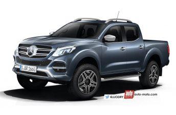 Más sobre la futura pick up de Mercedes-Benz