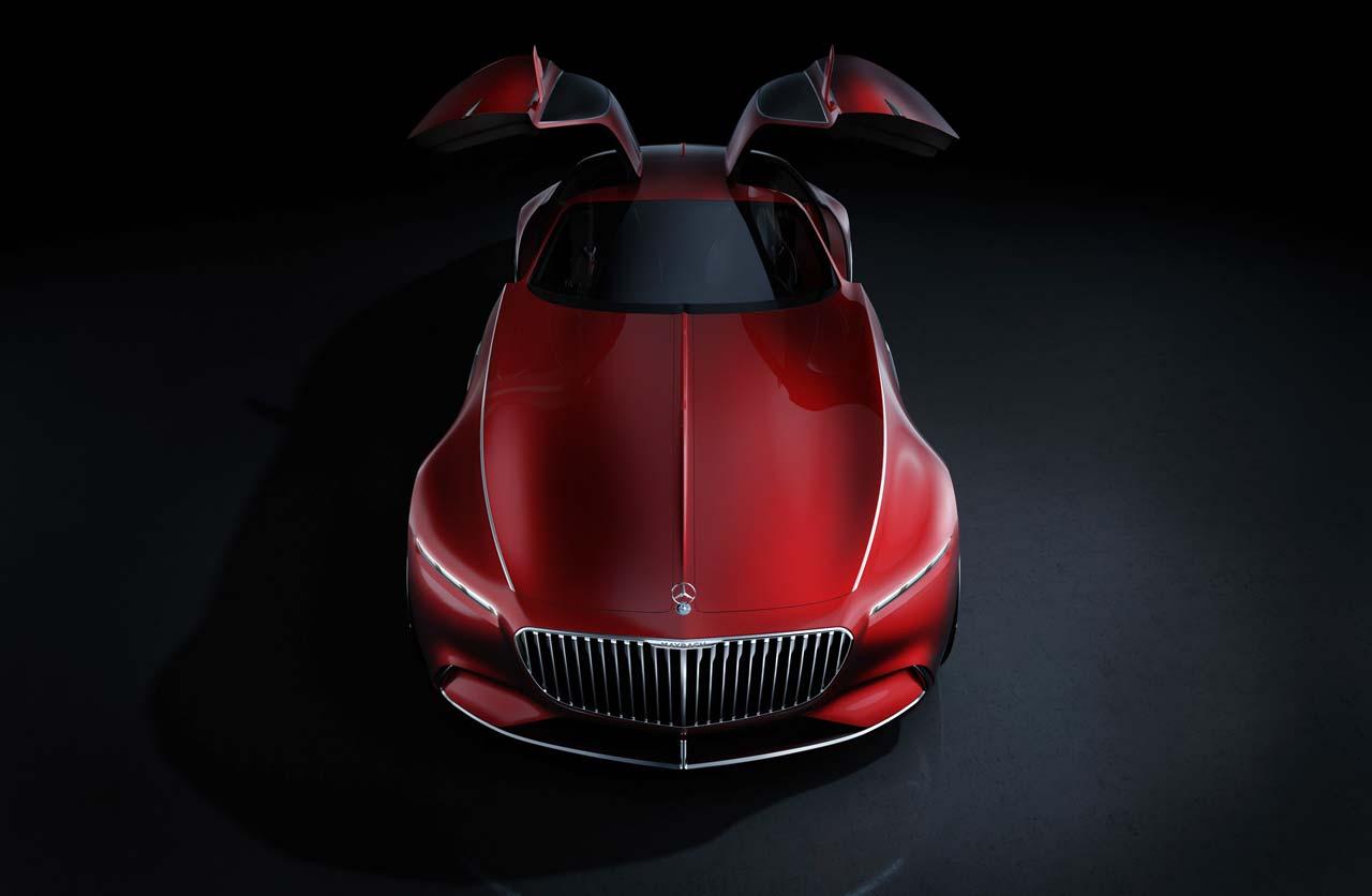 Vision Mercedes-Maybach 6, mucho (pero mucho) lujo