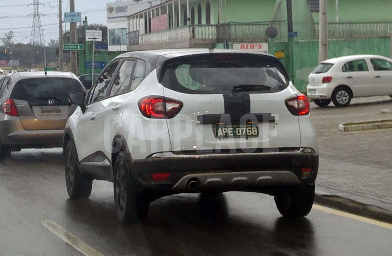 Renault Captur, sin camuflaje en Brasil