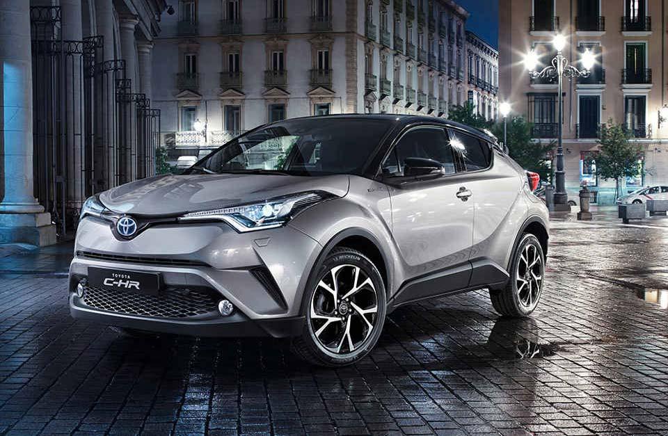 El Toyota C-HR debutará en el Salón de San Pablo