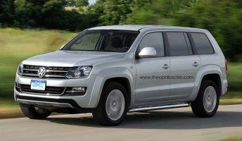 Se viene el SUV de la Volkswagen Amarok