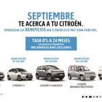Citroën con más beneficios para llegar al 0km