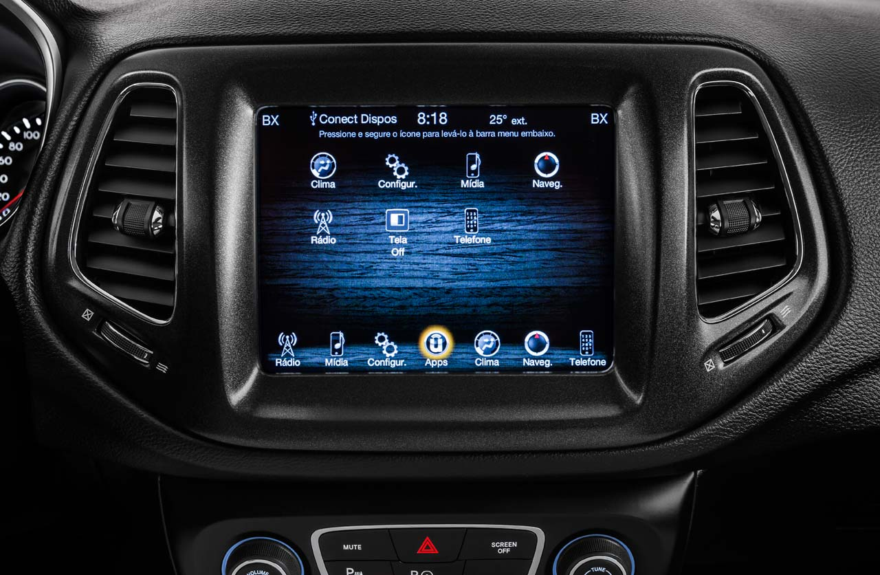 Multimedia Jeep Compass Brasil