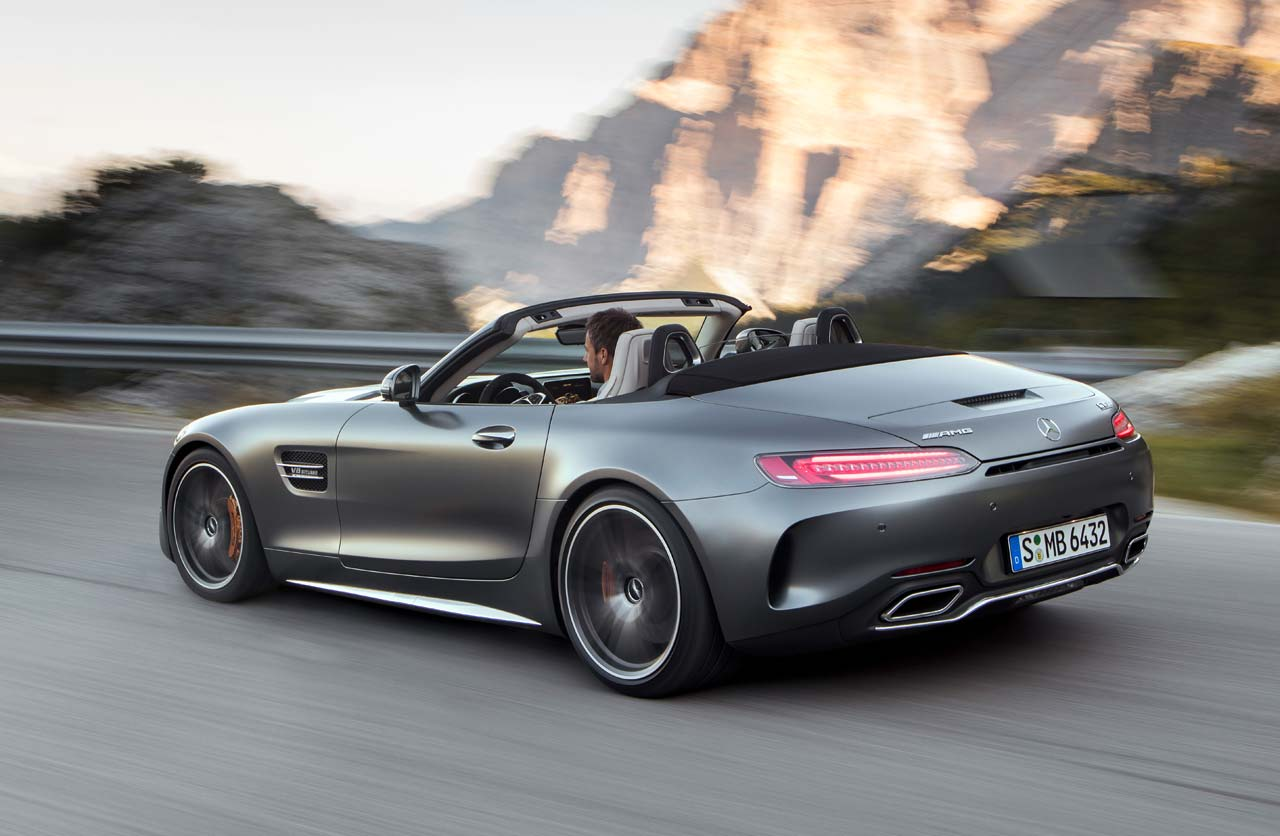 el mercedes amg gt se hizo roadster mega autos. Black Bedroom Furniture Sets. Home Design Ideas
