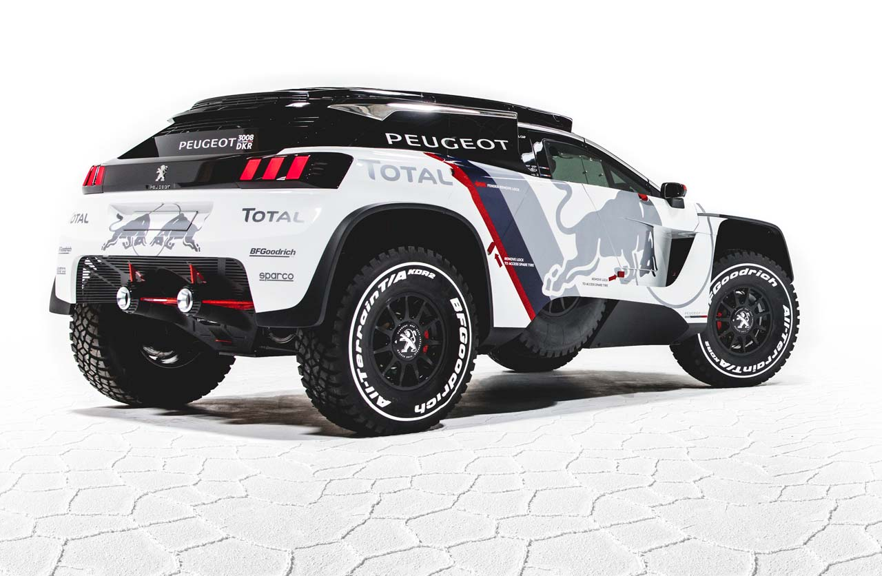 objetivo dakar 2017 as es el nuevo peugeot 3008 dkr mega autos. Black Bedroom Furniture Sets. Home Design Ideas