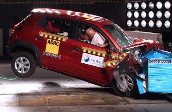 Pruebas de choque: mala nota para los urbanos de Chevrolet y Renault