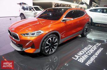 BMW presentó el Concept X2 en el Salón de París 2016