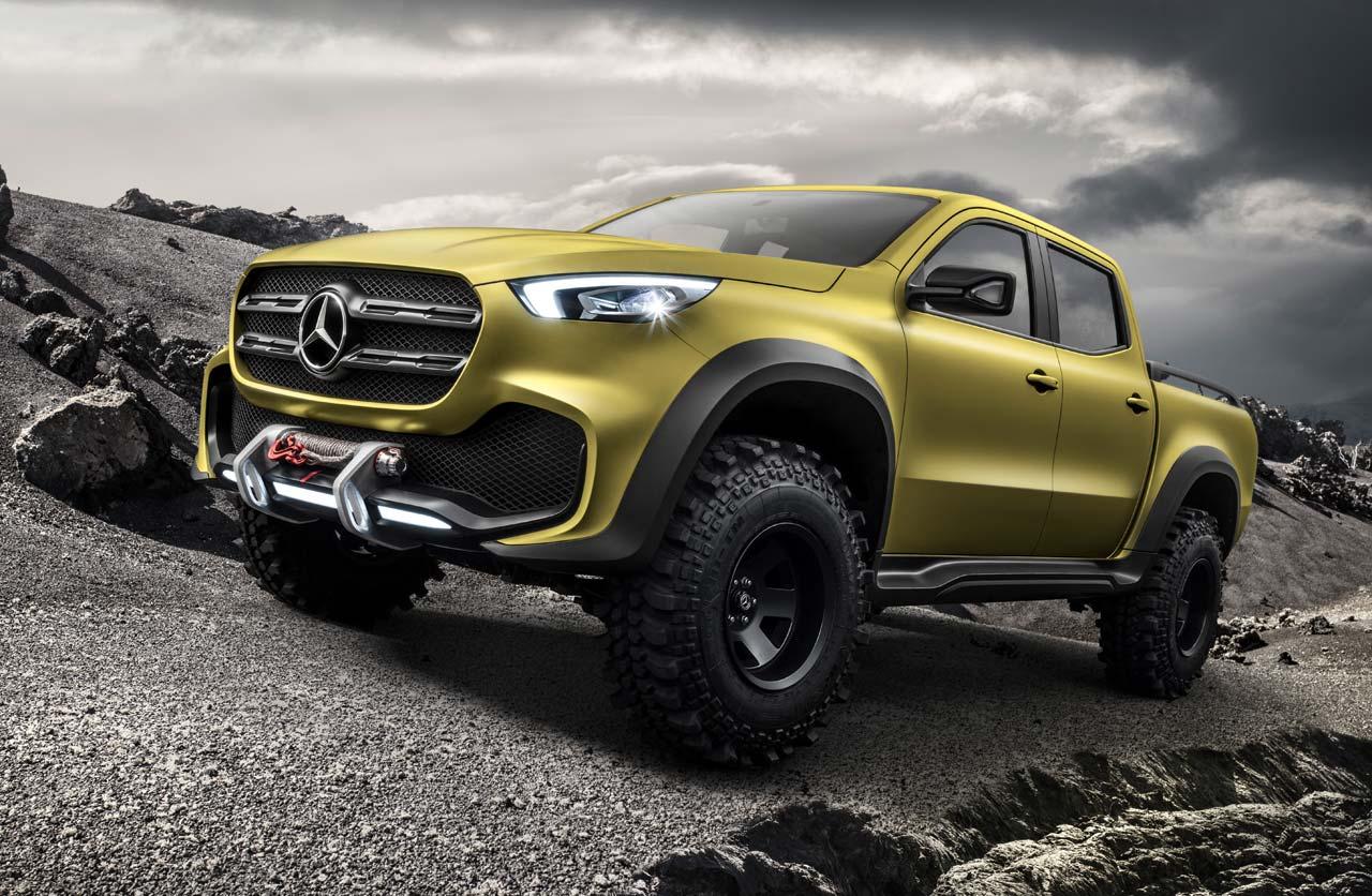 Mercedes-Benz Clase X powerful adventurer