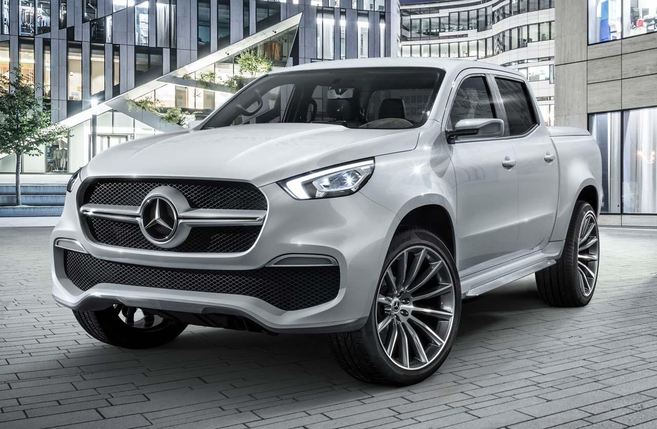Mercedes-Benz Clase X stylish explorer