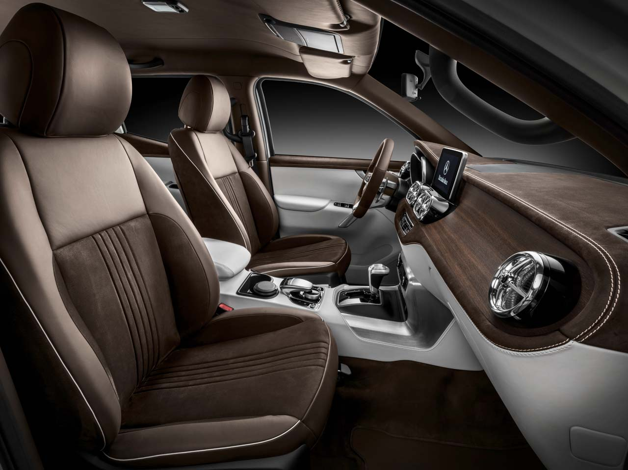 Interior Mercedes-Benz Clase X stylish explorer