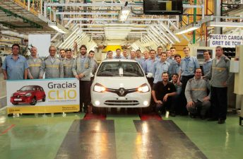 Adiós al Renault Clio argentino