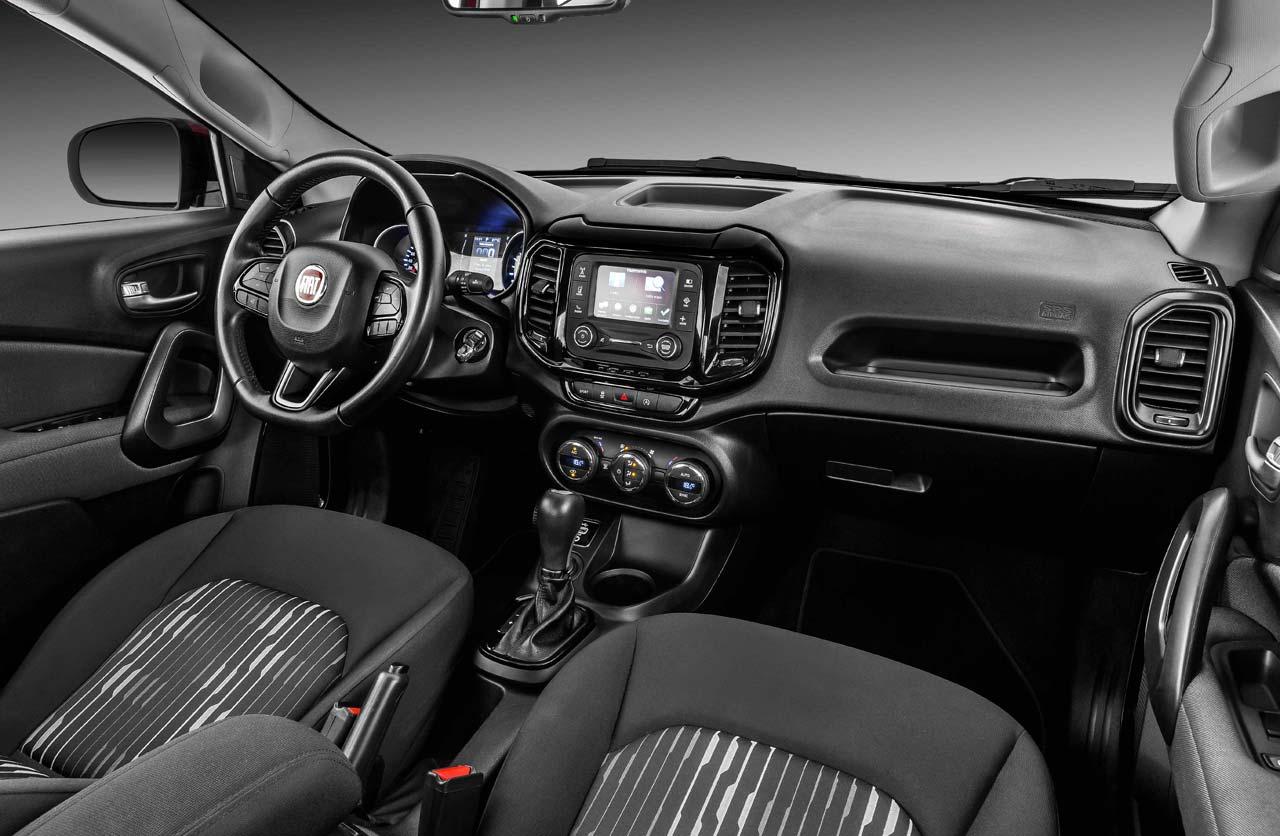 interior Fiat Toro motor nafta