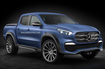 ¿Será así la Mercedes-Benz Clase X de producción?