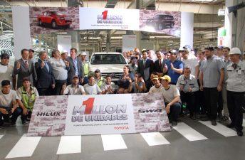 Toyota produjo 1 millón de unidades en Argentina