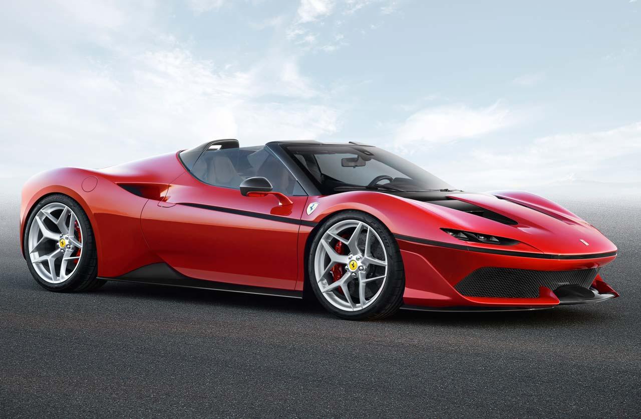 J50: una Ferrari aún más exclusiva (y sólo para Japón)