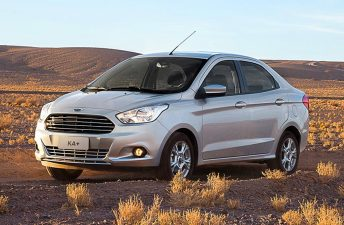 Se viene el Ford Ka sedán (alias Ka+)