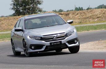 Manejamos el nuevo Honda Civic en pista
