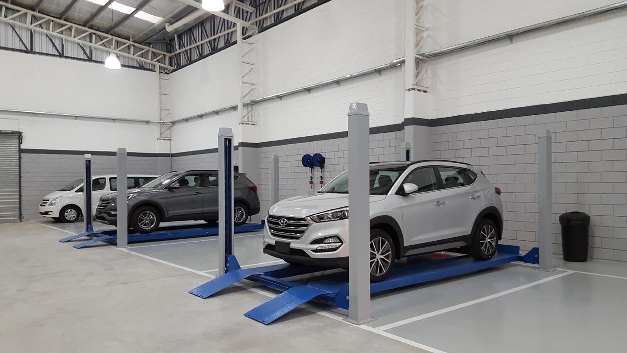 Busan, concesionario Hyundai