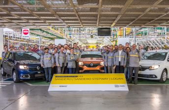 Los Renault Logan y Sandero ya se fabrican en Argentina