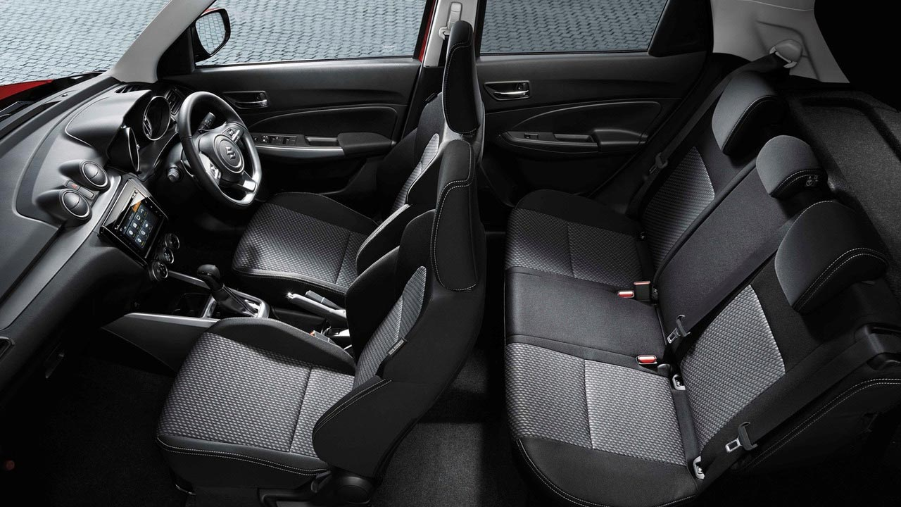 Interior Suzuki Swift 2017