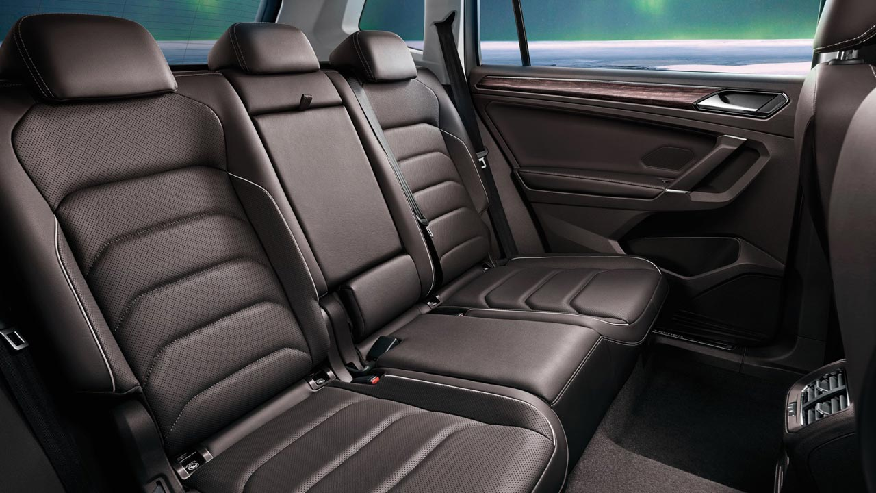 Interior Volkswagen Tiguan L 7 asientos