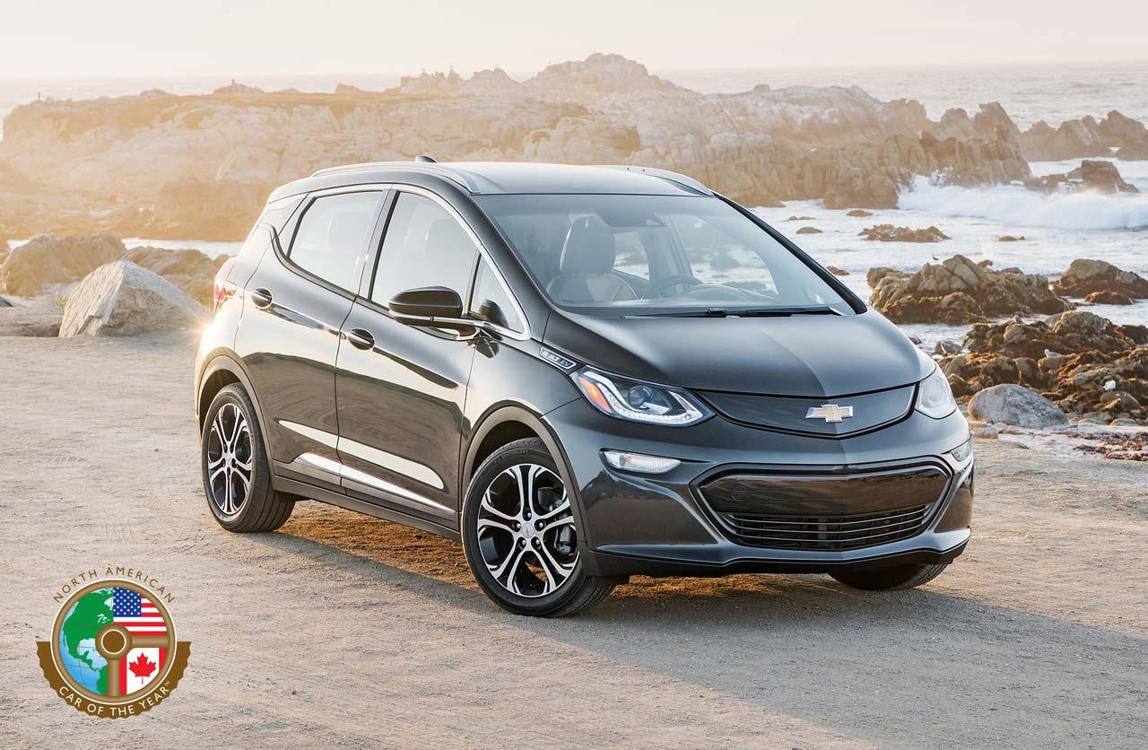 Chevrolet Bolt EV, auto del año de Norteamérica 2017