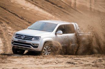 VW Amarok V6: contacto en la arena