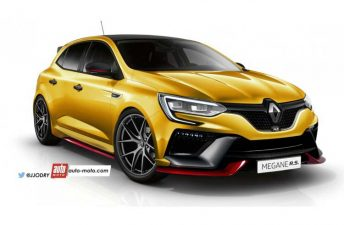 Nuevo anticipo del Renault Mégane IV RS