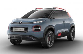 C-Aircross Concept, el futuro SUV chico de Citroën