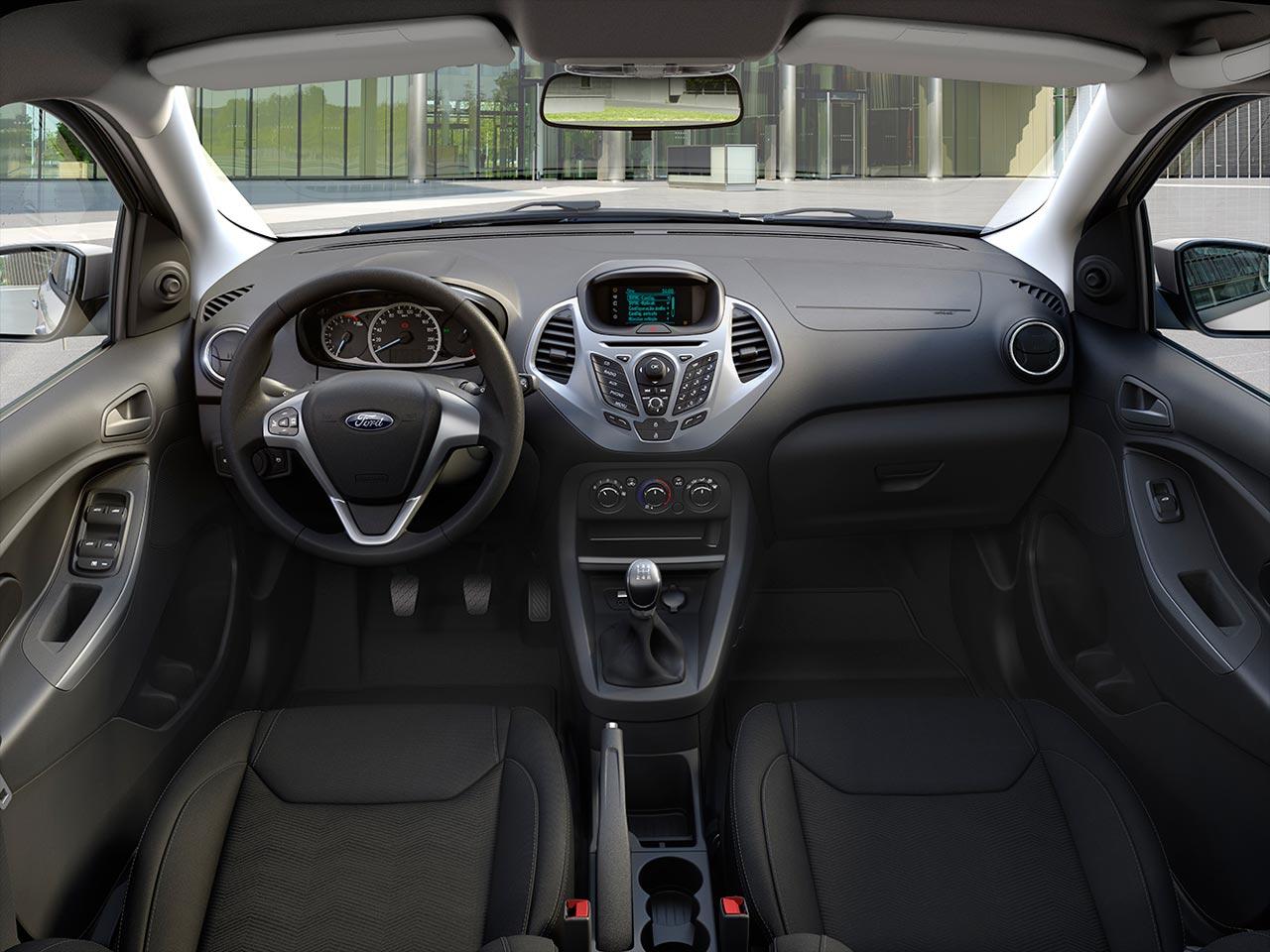 El ford ka lleg a la argentina mega autos - Interior ford ka ...