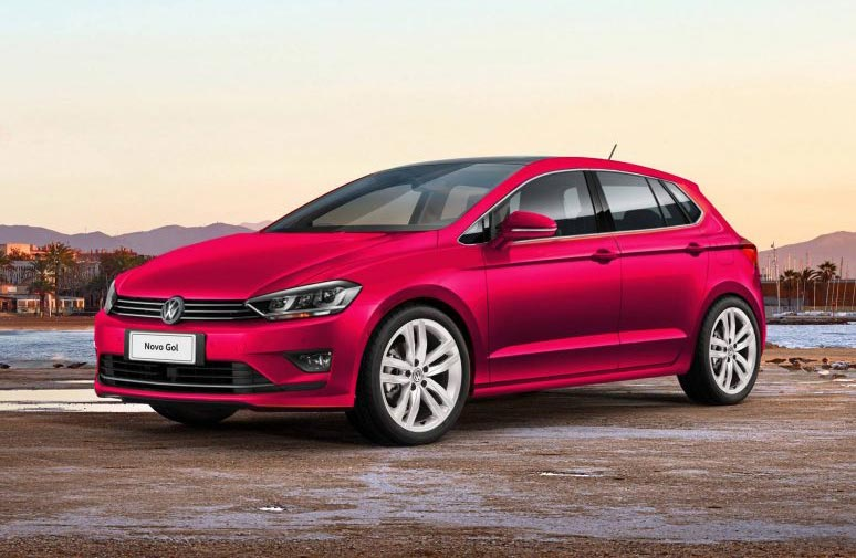 Proyectan la próxima generación del Volkswagen Gol