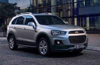 Impuesto interno: las Chevrolet Captiva y Trailblazer, más baratas