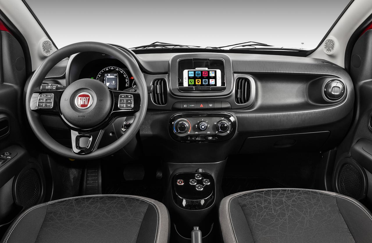 Fiat Mobi caja automática GSR-Comfort