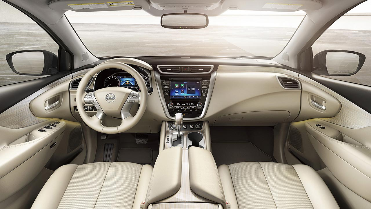Interior Nissan Murano 2017