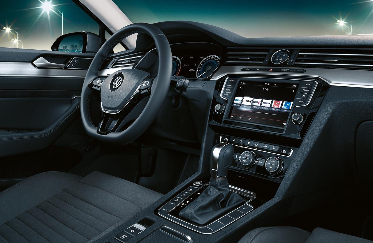 Interior Nuevo Volkswagen Passat
