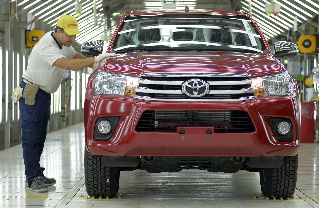 Toyota cumple 20 años produciendo en Argentina