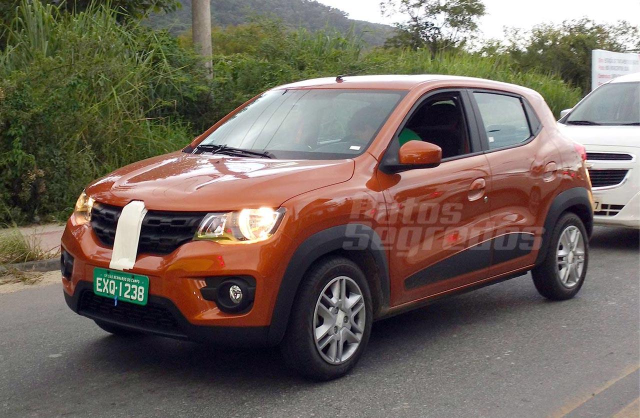Renault Kwid, desde julio en Brasil