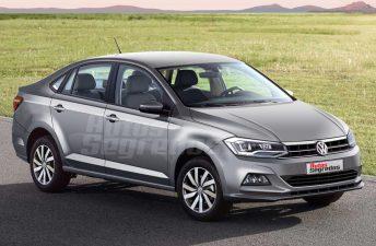 ¿Será así el Volkswagen Virtus?