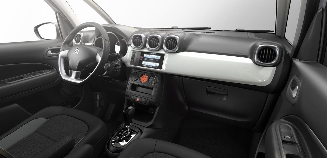 Interior Citroën C3 Aircross AT