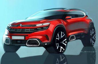 Citroën anticipa su próximo SUV