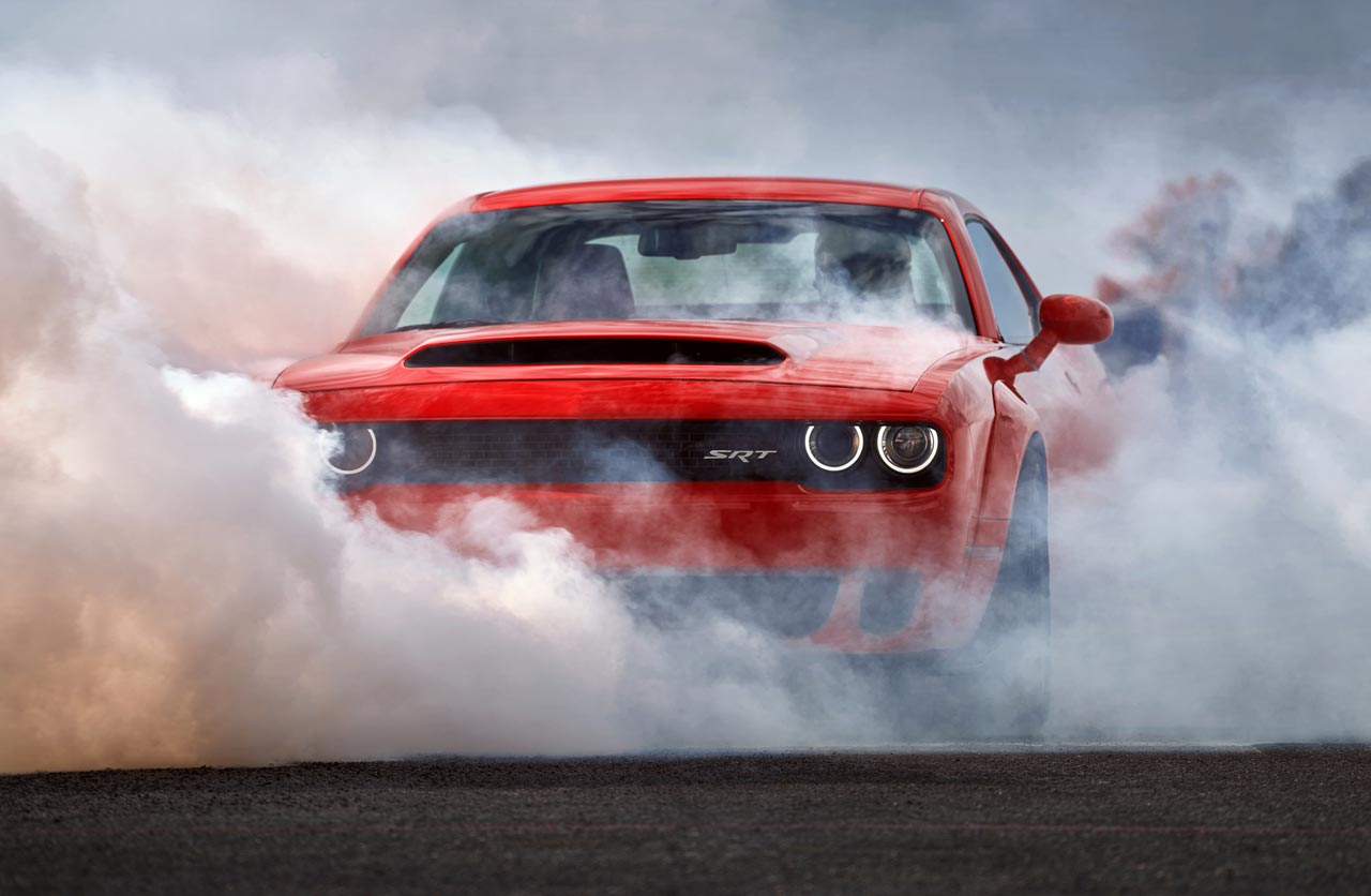 Dodge Challenger SRT Demon 2018, el muscle car más potente de la historia