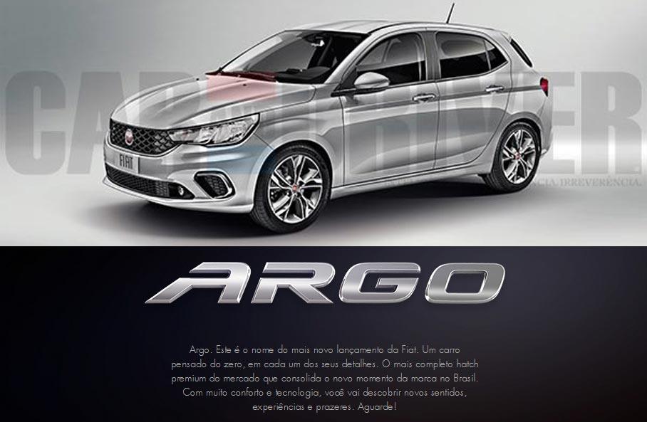 Argo, el nombre del nuevo hatchback regional de Fiat