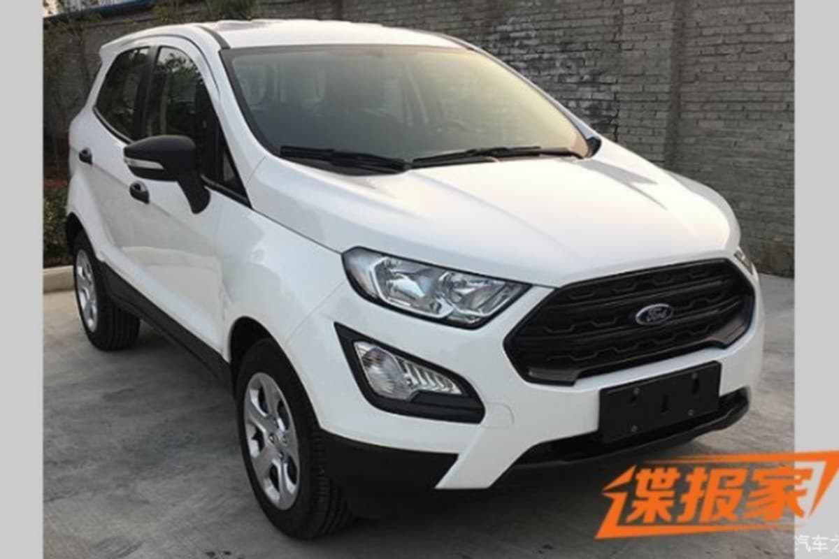 Nueva Ford EcoSport Titanium China