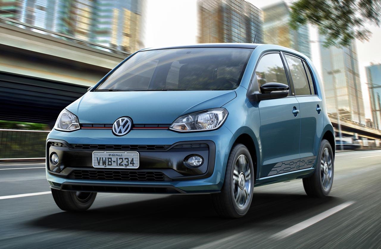 Así es el renovado VW Up! regional, que llegará a Argentina
