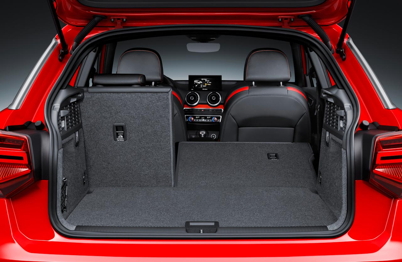 Baúl Audi Q2